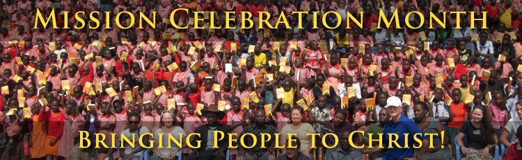 Mission Celebration Month