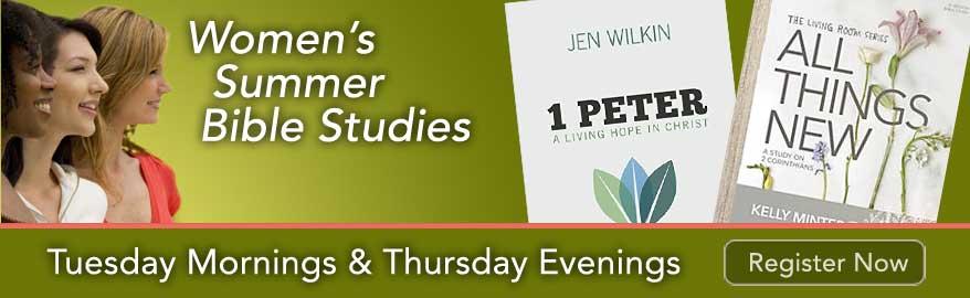 Women's Summer Bible Studies