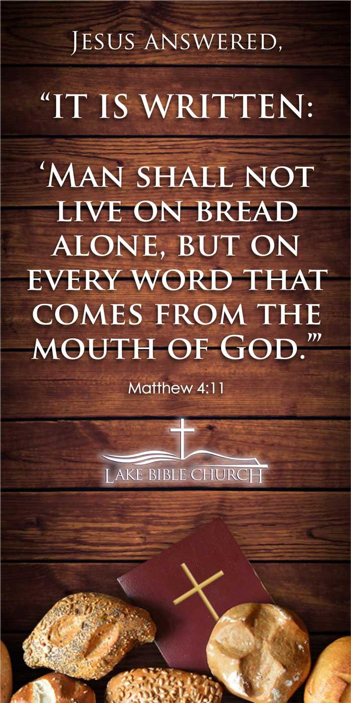 Matthew 4:11